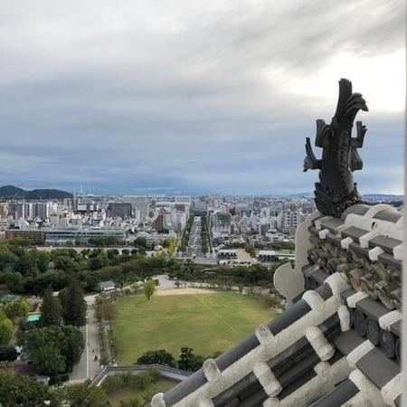 2020年10月 姫路城 ときめきな日々 (2).JPG