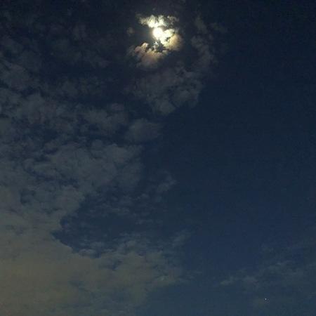 2020年10月 月と火星 ときめきな日々.JPG