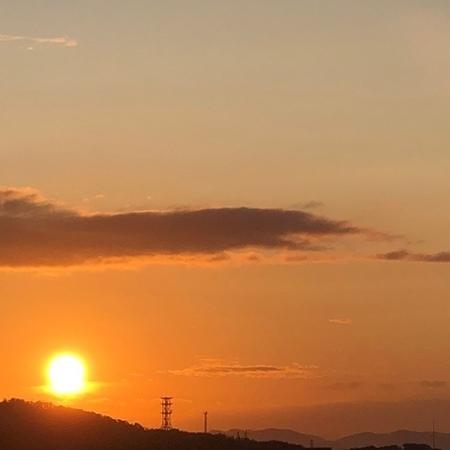 2020年10月 朝日 朝焼け ときめきな日々.jpg
