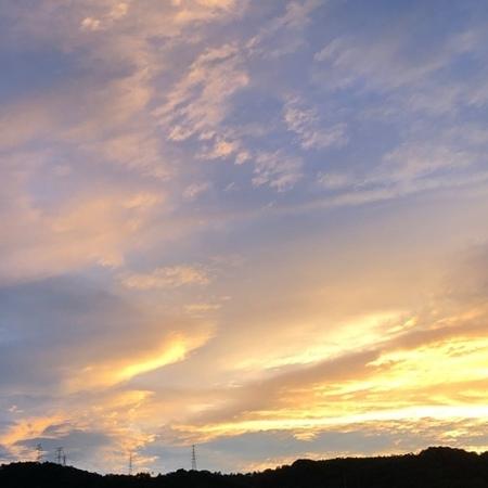 2020年7月 夕空 ときめきな日々 (2).JPG