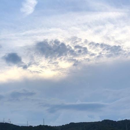2020年8月 雲 ときめきな日々.JPG