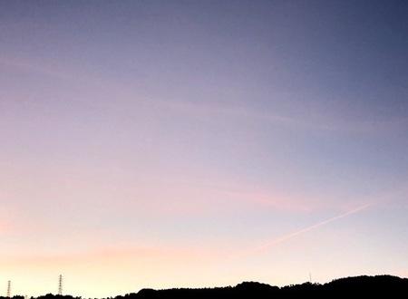 2020年9月 夕焼け空 ときめきな日々.JPG