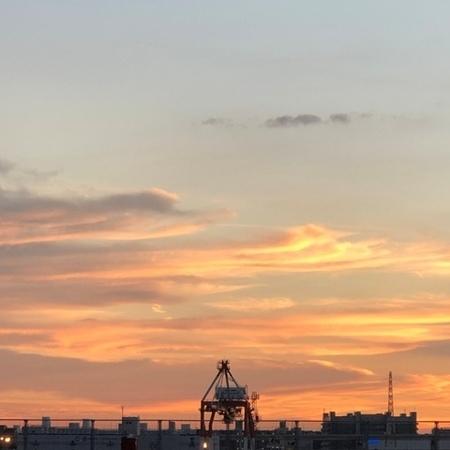 2020年9月 大阪 夕焼け雲 ときめきな日々.JPG