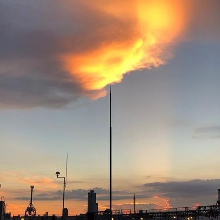 2020年9月 大阪 夕焼雲 ときめきな日々.JPG