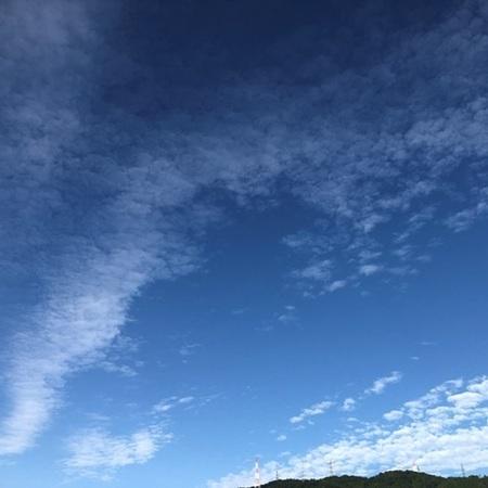 2020年9月 青空 ときめきな日々.JPG