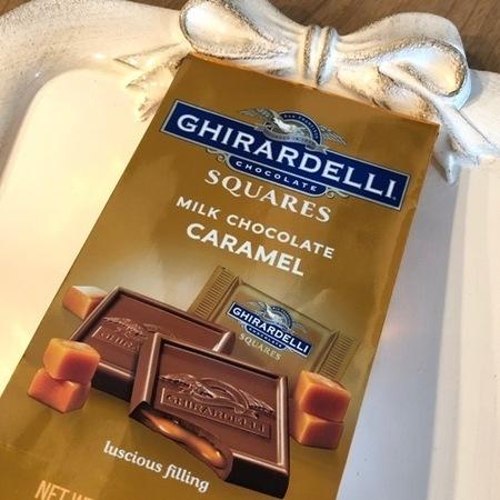 アメリカ チョコレート ギラデリ ミルクチョコレート&キャラメル.JPG