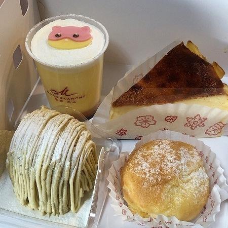 マールブランシュロマンの森 京都山科 ケーキ ときめきな日々.JPG