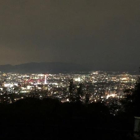 京都 夜景  将軍塚.JPG
