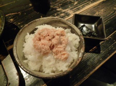 京都 岡崎 山元麺蔵 鮭ごはん.JPG