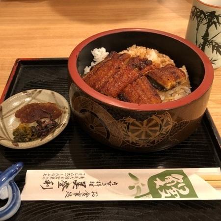 京都 東寺 うなぎ料理 美登利 うな丼.JPG