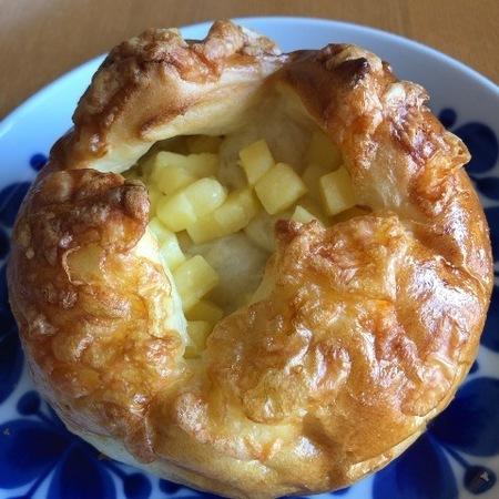 京都 西陣 パン 大正製パン所 チーズパン.JPG