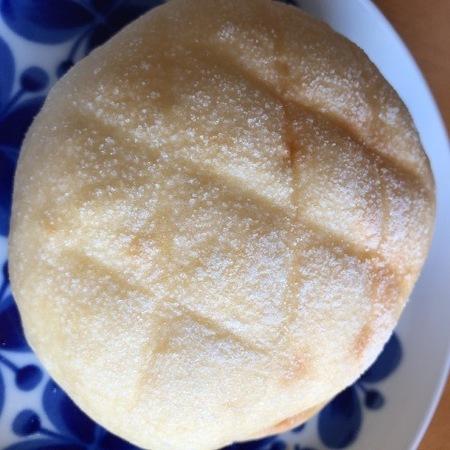 京都 西陣 パン 大正製パン所 メロンパン.JPG