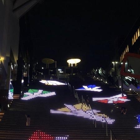 京都駅 イルミネーション.JPG