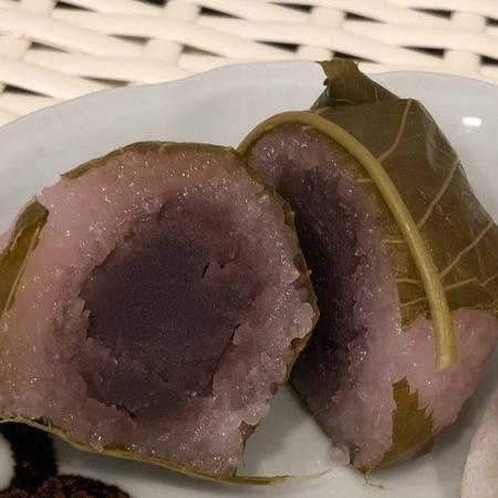 和菓子 京都 桂 中村軒 桜餅.JPG