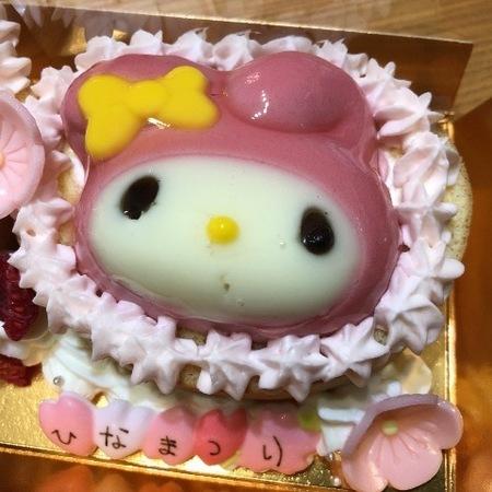 大阪 ケーキ モンシェール 堂島ロール ひなケーキ サンリオ (3).JPG