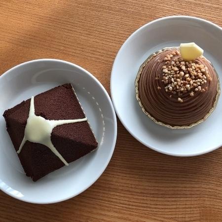 大阪 京町堀 チョコレート ケーキ 洋菓子 レ・プティット・パピヨット.JPG